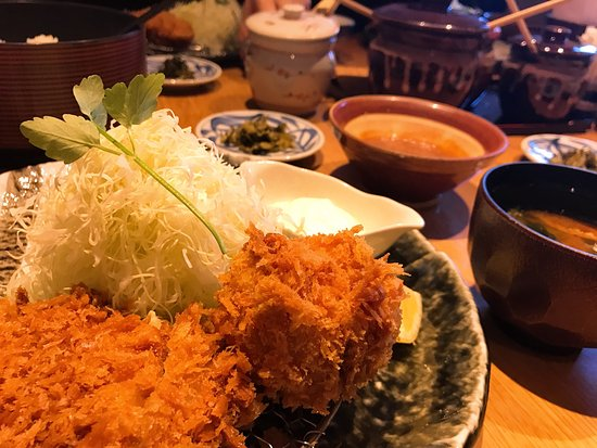 Katsukura, Kyoto Station Bldg The Cube: Feels tender, tastes gentle in the mouth!