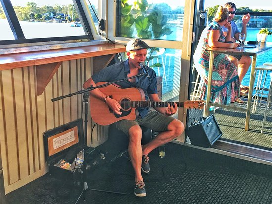 Noosa Boathouse & Sunset Bar: Sunday Sunset Sessions - LIVE MUSIC every Sunday from 4:30pm in the Sunset Bar on the top deck