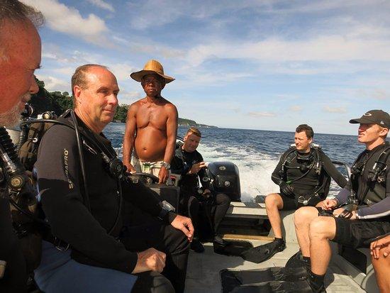 Capt'n Gregg's Accommodation: 潛水