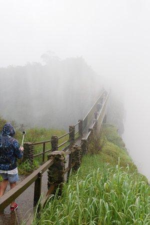 Victoria Falls, Zambia: ナイフズ・エッジの橋