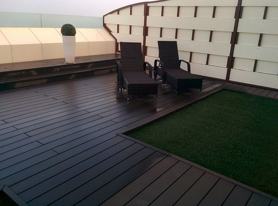 Hotel All'Alba: terrazza privata