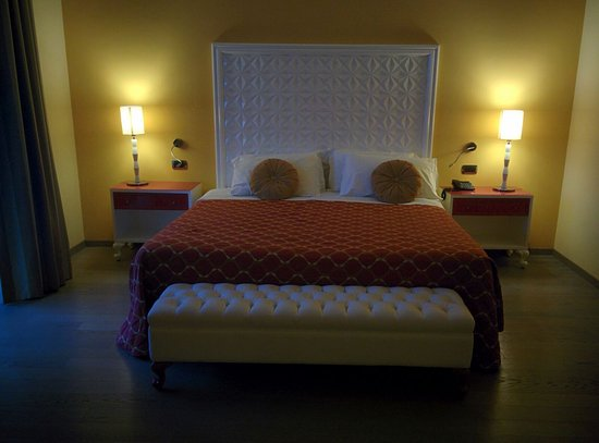 Hotel All'Alba: letto king size