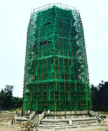 Liusheng Tower: Currently under renovations