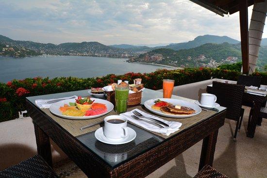 El Suspiro Restaurante: Desayuno.