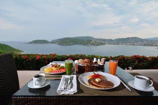 El Suspiro Restaurante: Desayuno