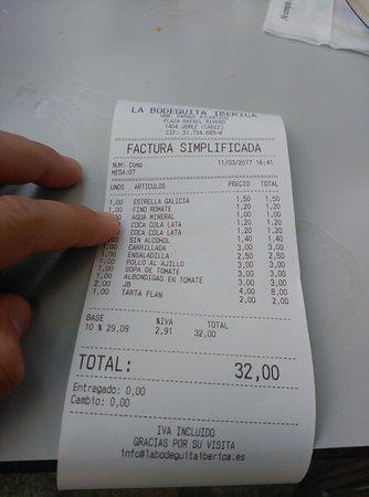 Restaurante tabanco la bodeguita iberica en jerez de la for La iberica precios