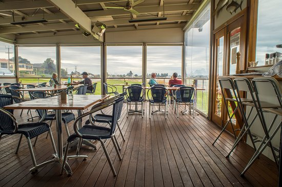 Goolwa, Australien: The deck