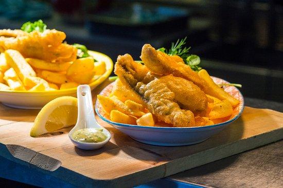 Goolwa, Австралия: fish and chips