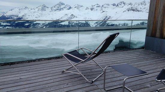 Samedan, Suisse : balcony