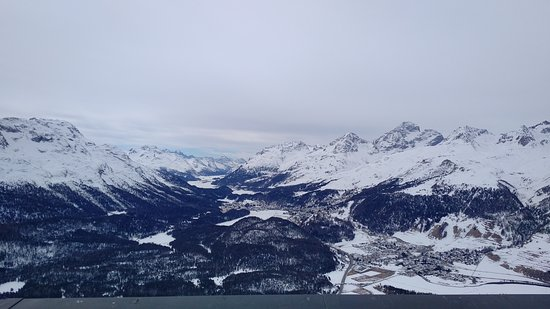 Samedan, Suisse : view from balcony