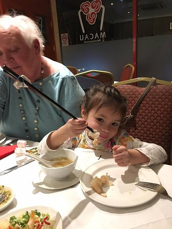 macau: training chopsticks