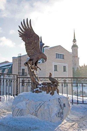 Башня-колокольня с часовней Святителя Иоанна Златоуста