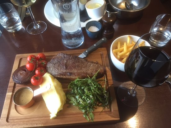 Elie, UK: My steak