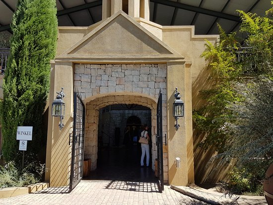 Riebeek Kasteel, South Africa: Entrance