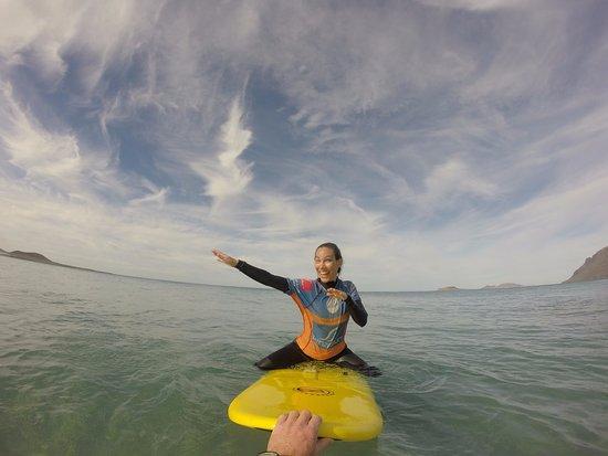 Lanzasurf: Intermediate surf class
