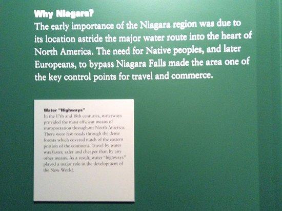Youngstown, Estado de Nueva York: The reason