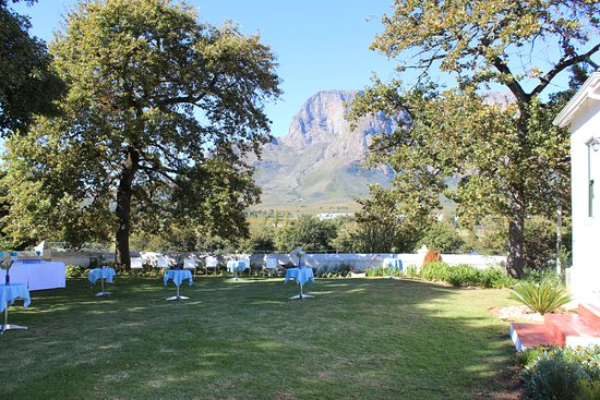 Pniel, South Africa: High tea, kiddies parties, wedding showers, book readings, summer concerts,  afternoon tea