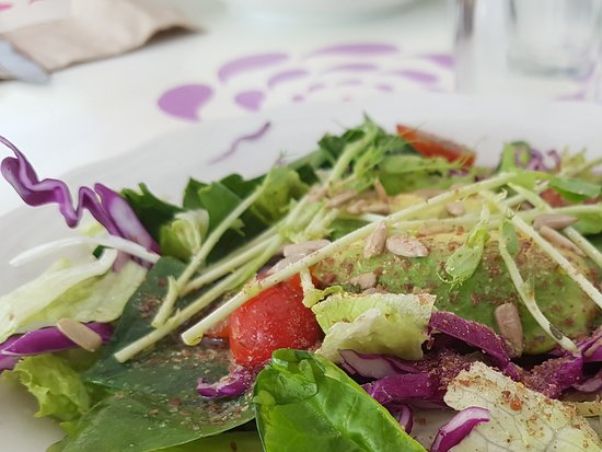 Lamai Beach, Thailand: Fresh salad