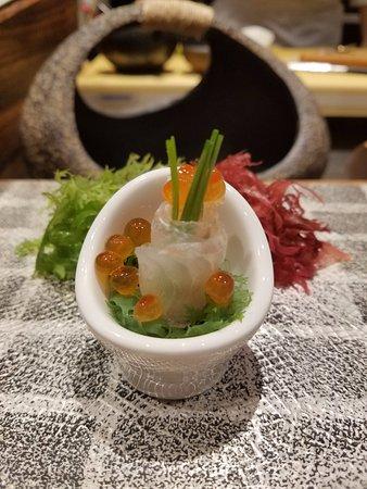 Dining at Murasaki: Sashimi