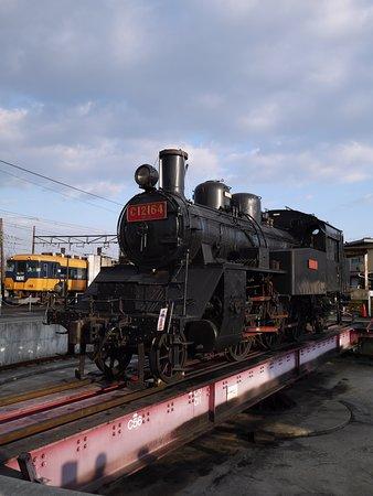 Shizuoka Prefecture, Japan: 新金谷駅の転車台