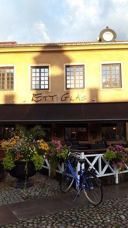 Norrtalje, Svezia: Restaurang Ett glas i Norrtälje