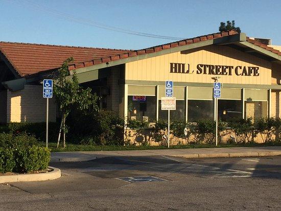 Hill Street Cafe Burbank Menu