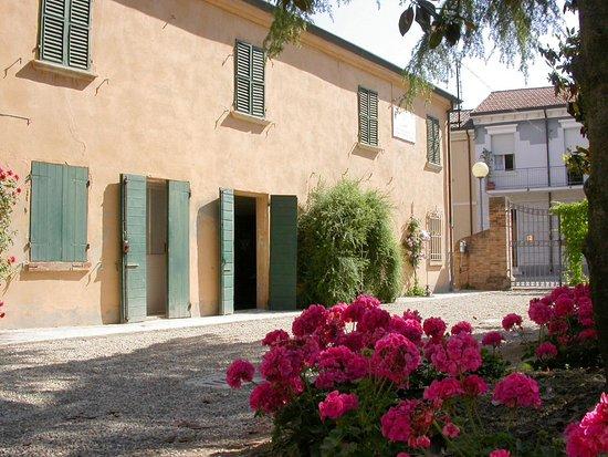 San Mauro Pascoli, Italie : esterno di Casa Pascoli