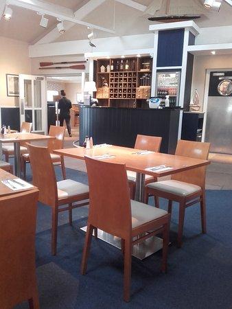 Colne, UK: Inside Bannys Restaurant