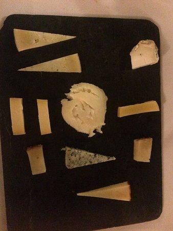 Sacha: Cheese plate