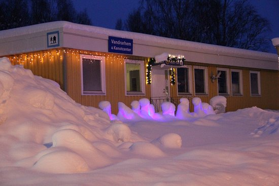 Hallefors, Suecia: Winter at Hällefors Hostel & Canoecenter