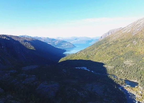 Kinsarvik, Norge: Mikkelparken Ferietun is a great place to start if your planing to hike in Husedalen.