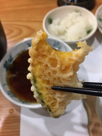 Wonderful and authentic tempura