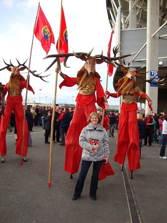 Mountshannon, Ireland: Munster Rugby Fan! Thomand Park, Limerick - 40 mins drive.