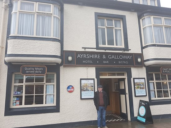 Ayrshire & Galloway Hotel: Great food super staff recommend a visit...definately!!!!😀