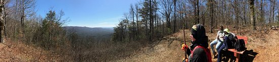Chatsworth, GA: Panorama view from a lookout