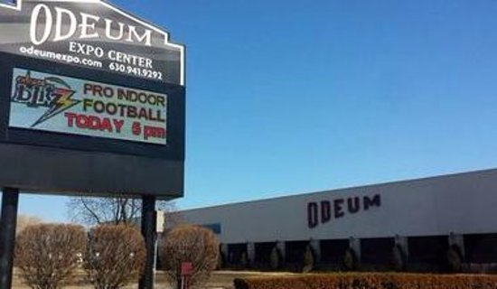 Villa Park, IL: sign for the Odeum Expo Center