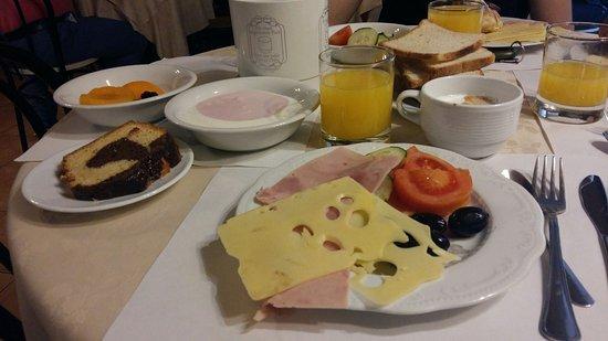 Hotel Parker : завтрак