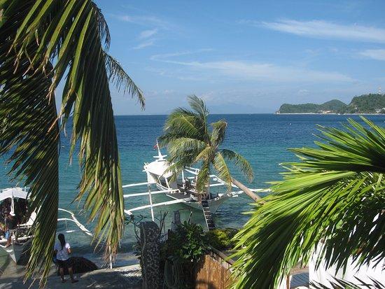De Luna Resort: Вид с террасы 2 этажа
