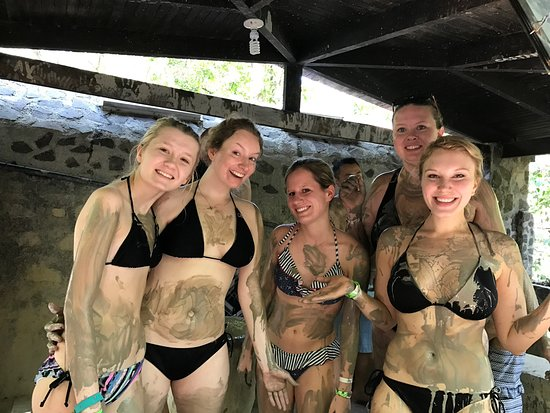 Santa Ana, Kostaryka: Mud baths