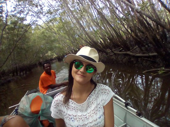 Cachoeira do Rio do Engenho ( Cachoeira do Cleandro ): Tem até caranguejo azul!