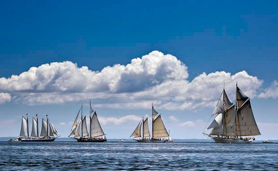 Spruce Point Inn Resort and Spa: Windjammer Week June 25 - July 1, 2017