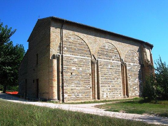 San Severino Marche, Italy: Resti della navata di destra
