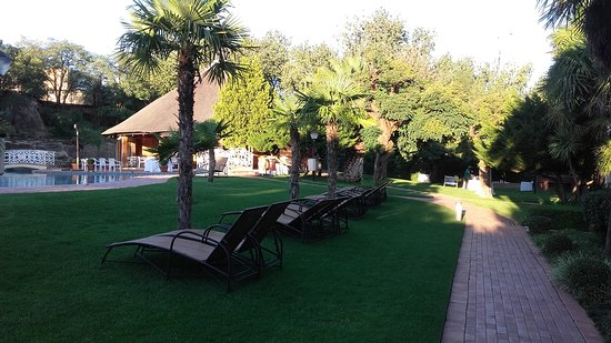 AVANI Maseru Hotel: Nice pool with sometimes too cold water