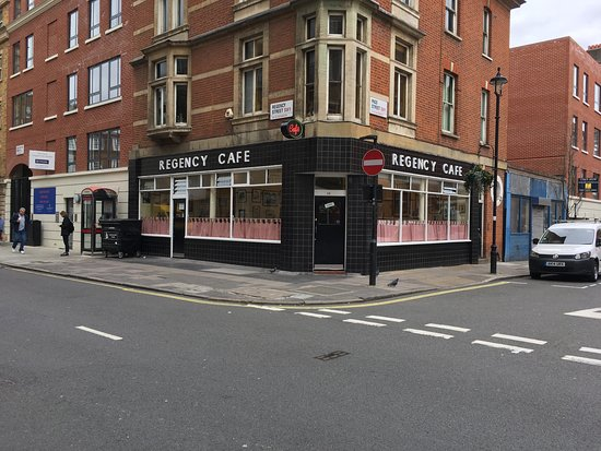 Photo of Cafe Regency Cafe at 17-19 Regency Street, Pimlico, London SW1P 4BY, United Kingdom