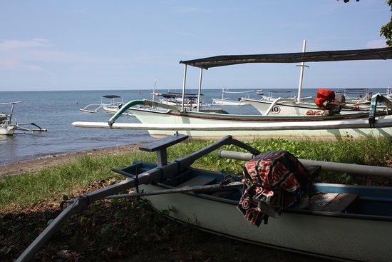 Антуран, Индонезия: på stranden