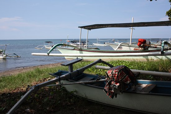 Anturan, Endonezya: på stranden