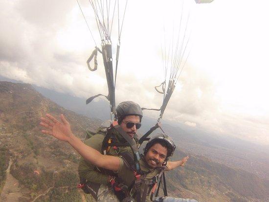 Team 5 Nepal Paragliding: made me as free bird .