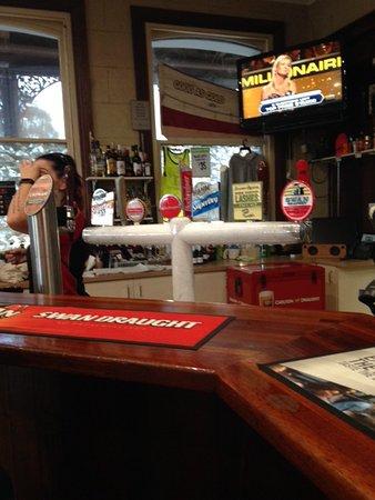 Wagin, Australia: Tap beer selection