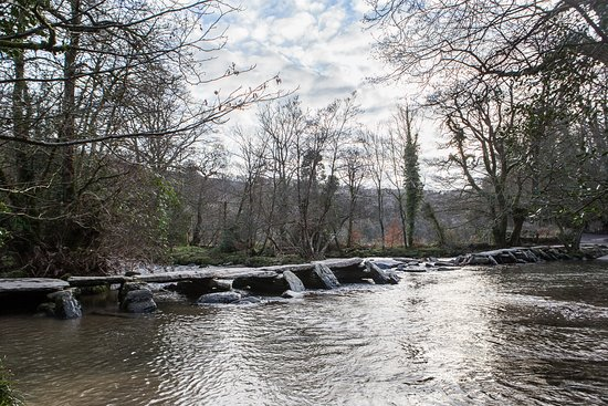 The Tarr Steps - the ancient bridge across the River Barle