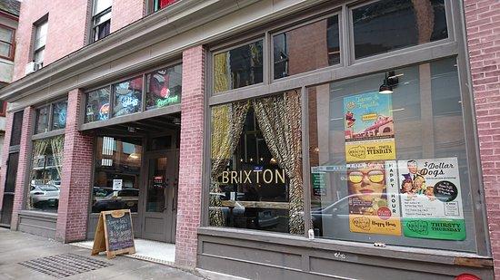 Photo of American Restaurant Caffe Brixton at 212 Georgia St E, Vancouver V6A 1Z7, Canada